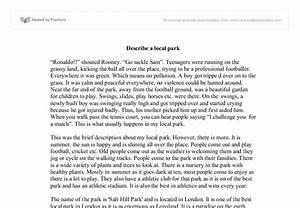 Descriptive essay of the beach