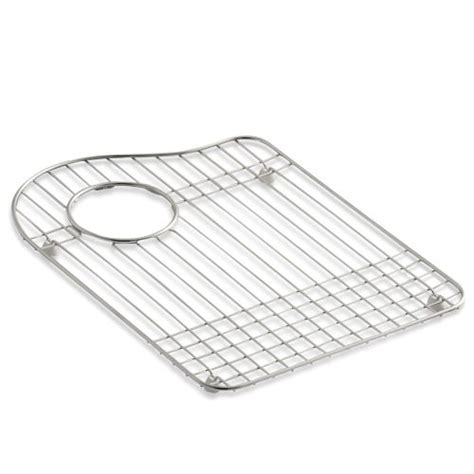 Kohler Kitchen Sink Protector by Kohler K 6016l Stainless Steel Left Bowl Stainless Steel