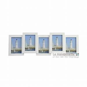 Cadre Photo Pele Mele Bois : cadre 5 photos pele mele en bois verre la maisonnette ~ Melissatoandfro.com Idées de Décoration