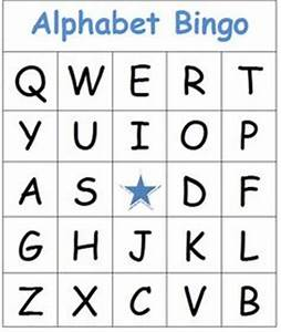 printable alphabet bingo cards homeschool roundup With bingo letters and numbers