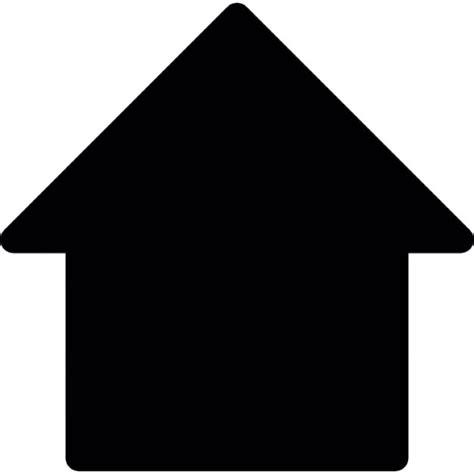 Haus Silhouette  Download Der Kostenlosen Icons