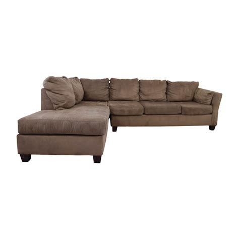 bobs furniture sectional sofas bobs 52 bob s furniture brown
