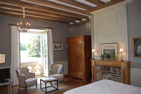 chambre dans chateau chambre bleue chateau des arpentis