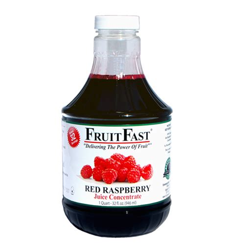 red raspberry juice concentrate  oz fruitfast