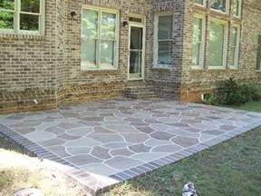 Stamped Concrete Restoration Image