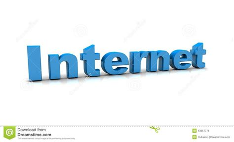 Internet concepts stock illustration. Image of word