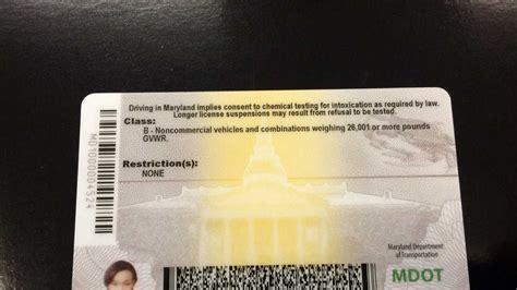 maryland driver md licenses dl htv