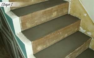 rnover des escaliers en bois cheap marche with rnover des With peindre son parquet en gris 5 maytop tiptop habitat habillage descalier renovation