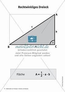 Flächeninhalte Berechnen Klasse 5 : merkbl tter zu dreiecken fl cheninhalte und umfang ~ Themetempest.com Abrechnung