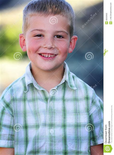 big smile  dimples stock photography image