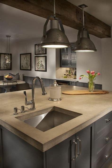 ilot cuisine moderne 45 idées en photos pour bien choisir un îlot de cuisine