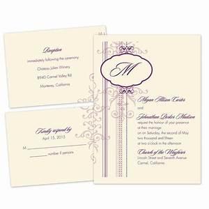 pretty patterns separate and send invitation ann39s With wedding invitations separate and send