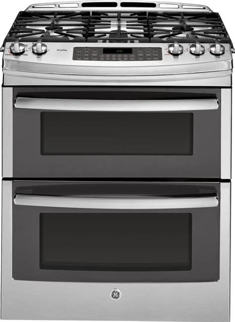 ge pgssefss     double oven gas range