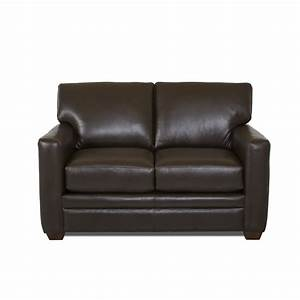 wayfair custom upholstery carleton leather sleeper sofa With leather sofa sleeper