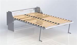 Mécanisme Lit Escamotable : m canisme de lit escamotable vertical flex m canisme de ~ Farleysfitness.com Idées de Décoration