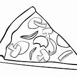 Pizza Coloring Cheese Drawing Clipart Toppings York Printable Hut Whole Macaroni Sheet Steve Getdrawings Toddler Z06 Corvette Getcolorings Michelangelo Line sketch template