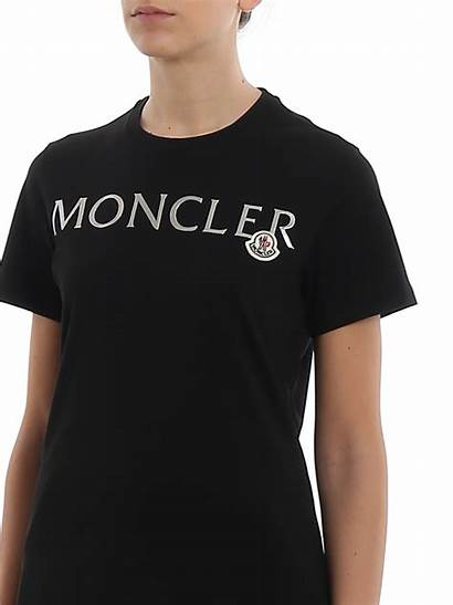 Lettering Relief Moncler Shirts