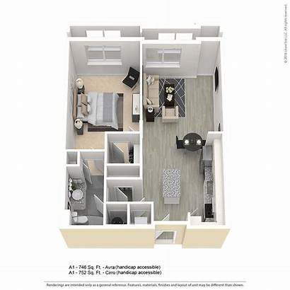 Bedroom A1 Apartment Floor Plan Baltimore Plans