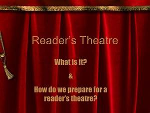 What Is Readers Theatre