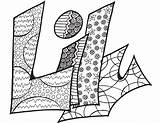 Coloring Pages Lily Stevie Printable Own Doodle Create Doodles Custom Colouring Printables sketch template