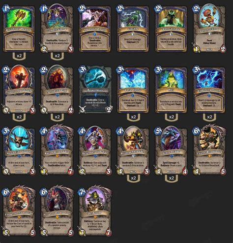Shaman Deck Brm by Is Shaman Weak Hearthstone Amino