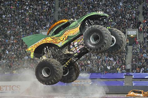 all monster trucks in monster dragon monster jam