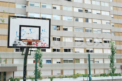 basketball court neighbourhood social colourbox