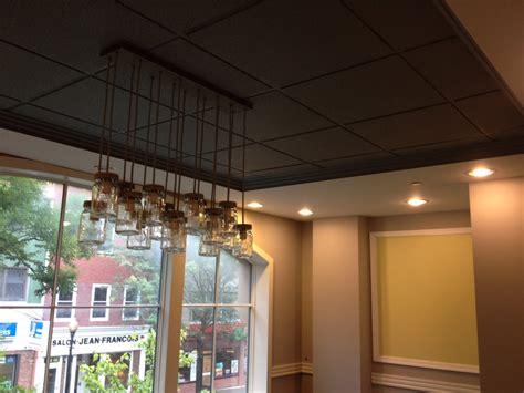 beautiful mason jar lights mode new york contemporary home office inspiration with black drop