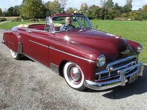 Chevrolet Styleline Deluxe Convertible For Sale Youtube