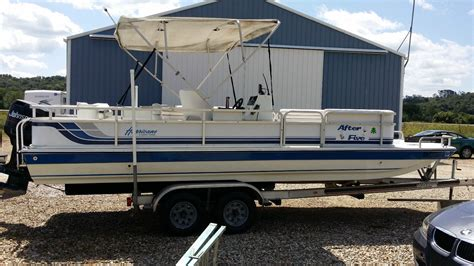 22 Deck Boat by Hurricane Deck 22 23 Ft 1994 For Sale For 5 250