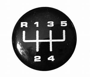 30mm Gearknob Sticker Pattern Gear Shift Stick 3d Badge