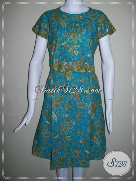 toko aneka model dress batik    motif batik