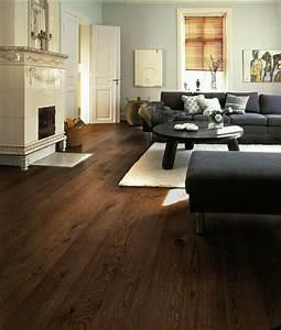 Dark hardwood floors for the home pinterest for Dark wood floor living room