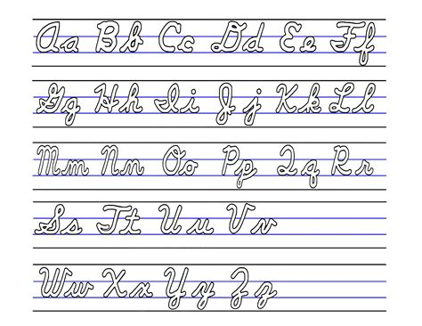 Alphabet Letters Upper And Lowercase Free Printable  Free Upper And Lower Case Letters