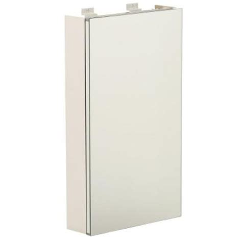 lighted medicine cabinet home depot glacier bay 15 in x 26 in surface mount night light