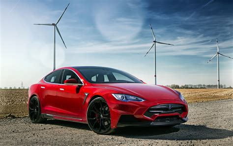 car, Electric Car, Tesla S, Tesla Motors, Red, Sports Car ...