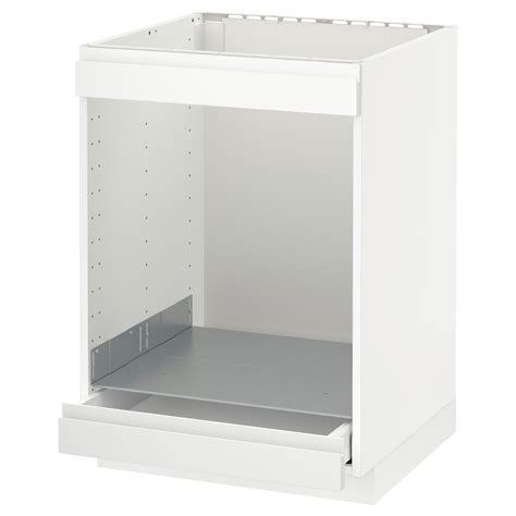 oven in base cabinet metod maximera base cab for hob oven w drawer white