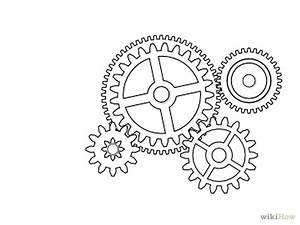 Draw Gears in Inkscape | Mechanical gears, Outlines and Craft