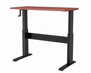 Newheights U2122 Vuelta Manual Hand Crank Sit To Stand Desk