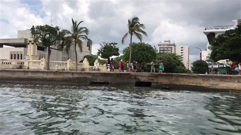 Santa Marta Colombia boat tour July 15 2017 - YouTube