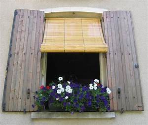 Store Bois Exterieur : store ext rieur en bois verni ~ Premium-room.com Idées de Décoration