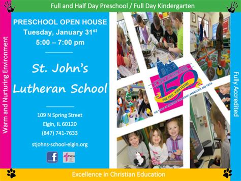 home st s lutheran school and preschool elgin 421 | postcard final web