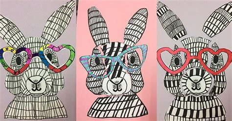 fun easter bunny craft idea teach starter blog