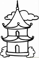 Temple Buddhist Drawing Buddha Coloring Chinese Buddhism Japanese Pagoda Printable Simple Google Sketch Supercoloring Result 2009 Clipartmag 사찰 Coloringpages101 Getdrawings sketch template