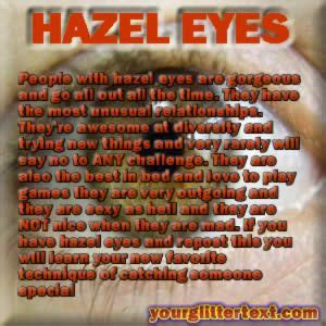 hazel eyes eye color meaning astrology hazel eyes