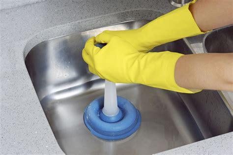 plunger  unclog  sink drain
