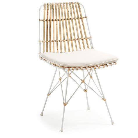 coussin d assise canapé chaise en rotin scandinave by drawer