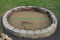 building a fire pit How to Build a Simple Backyard Fire Pit