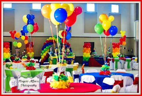 mickey mouse clubhouse birthday party ideas photo