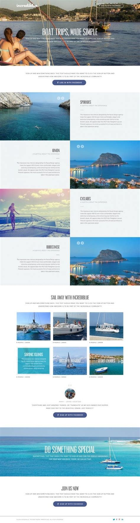Tourism Landing Page Templates by Best 25 Tourism Website Ideas On Pinterest I Salute You
